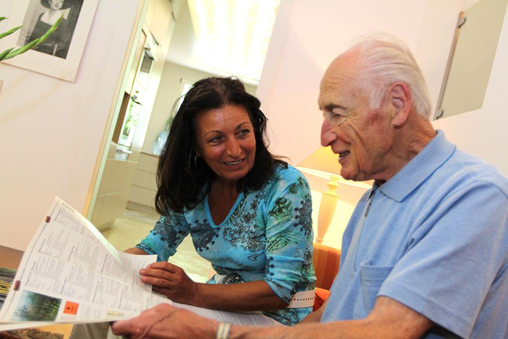 Seniorenbetreuung Stundenbetreuung