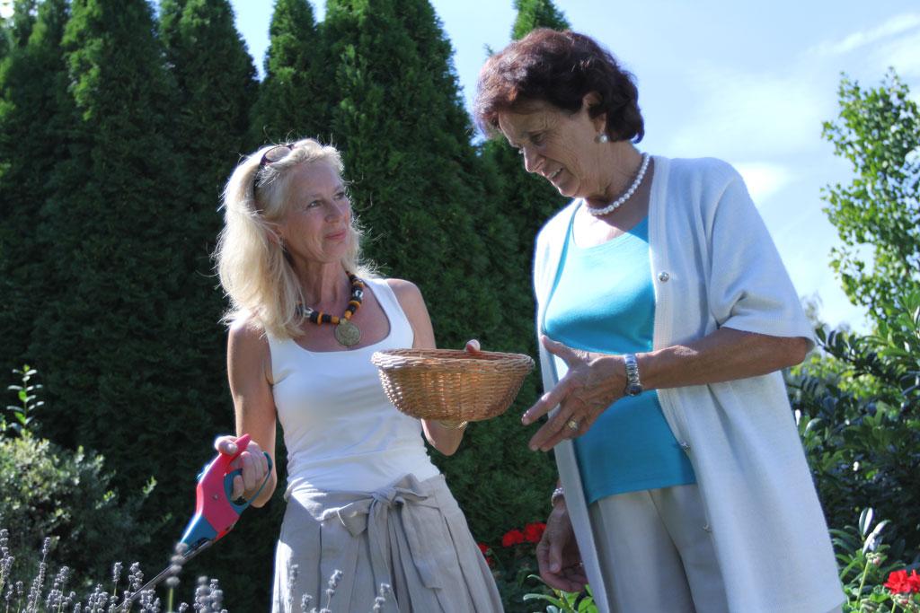 Stundenbetreuung Senioren